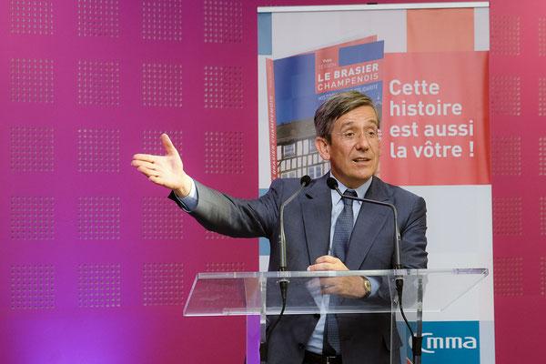 Charles de Courson, député de la 5ème circonscription de la Marne.