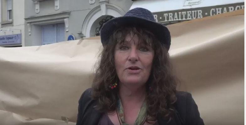 Régine Buisson, présidente de la chorale MUSIKADO à Dormans (51).