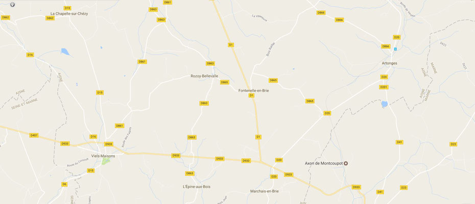 La commune nouvelle de Dhuys et Morin-en-Brie est composée des villages de Marchais-en-Brie, Artonges, Fontenelle-en-Brie et La Celle-sous-Montmirail.