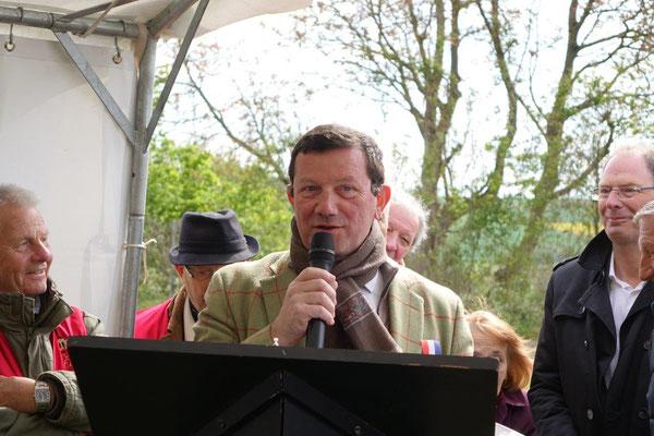 Olivier Devron, président du Pôle d'Équilibre Territorial et Rural-Union des Commuanutés de Communes du Sud de l'Aisne.