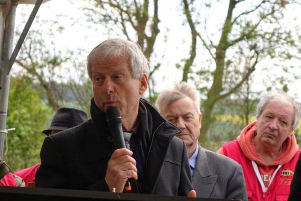Éric Assier, maire de Condé-en-Brie.