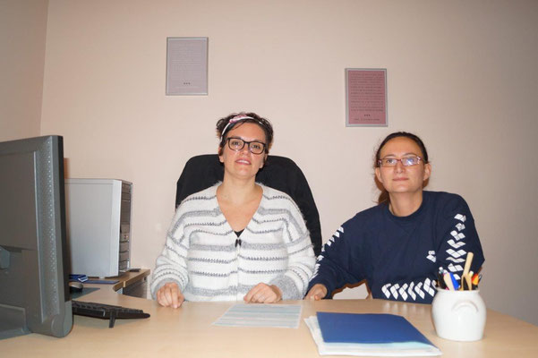 Emilie Verliat et Claire Brely recoivent déjà des patientes.