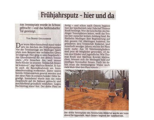 """Artikel aus der """"Sächsischen Zeitung"""" vom 30. März 2015"""