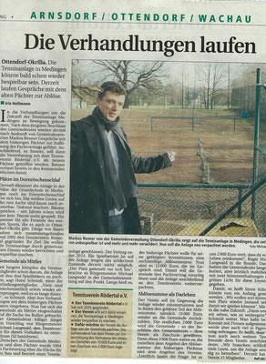 """Artikel aus der """"Sächsischen Zeitung"""" vom 17. Januar 2007"""