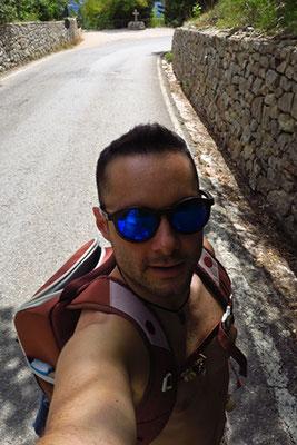 Assisi - Salendo verso l'Eremo delle Carceri