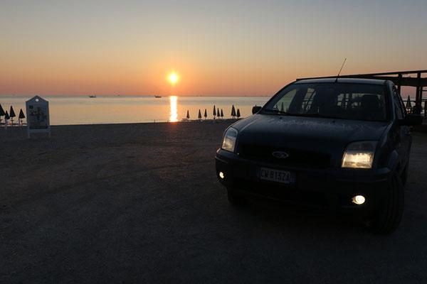 Alba a Porto Recanati