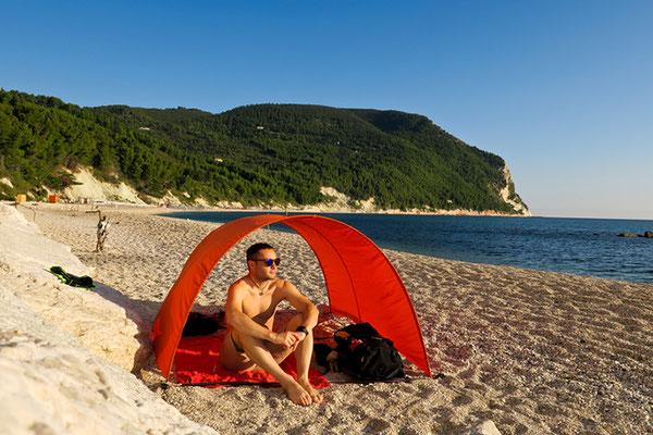 La mia super tenda para sole!