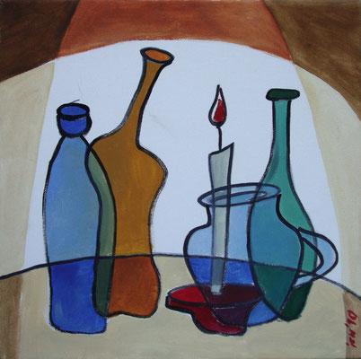 Lichtbühne, 2010, 40 x 40 cm, Öl auf Leinwand