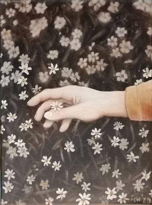 vergängliche Schönheit, 30 x 40 cm, Öl auf Leinwand