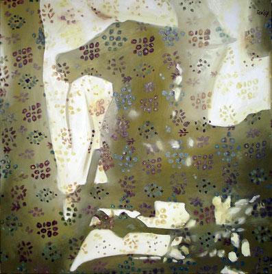 P 11, 2007, 80 x 80 cm, Öl auf Leinwand