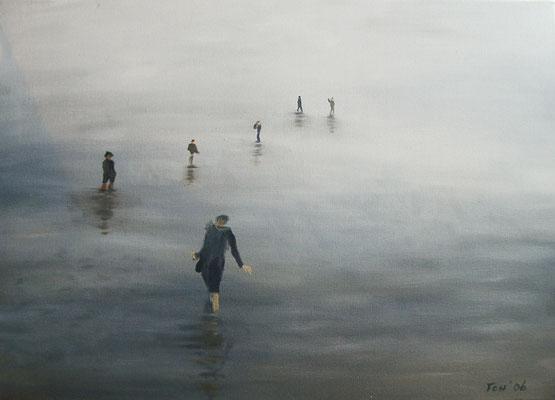 Seen-Sucht, 2006, 70 x 50 cm, Öl auf Leinwand