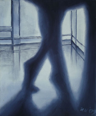 Ballett, 2007, 30 x 40 cm, Öl auf Leinwand