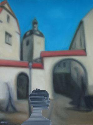 Verinnerlichung, 2005, 60 x 80 cm, Öl auf Leinwand