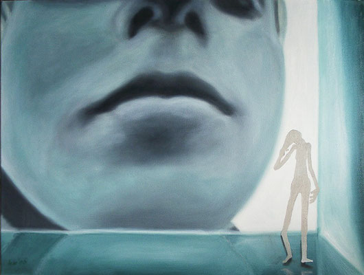 Versuch einer Selbstfindung, 2006, 80 x 60 cm, Öl auf Leinwand