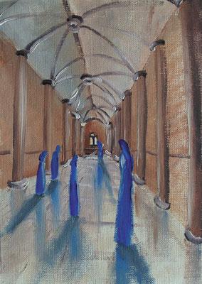 Er-Frischung, 1999, 15 x 21 cm, Öl auf Karton