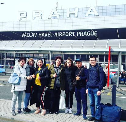 """Стажировка в Праге """"Ahoj!Student"""""""