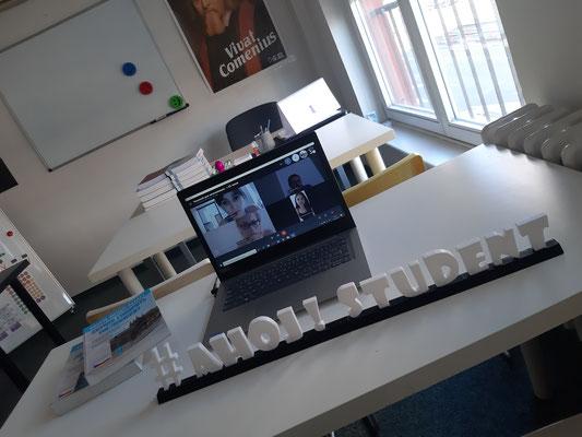 Výučujeme přes Skype