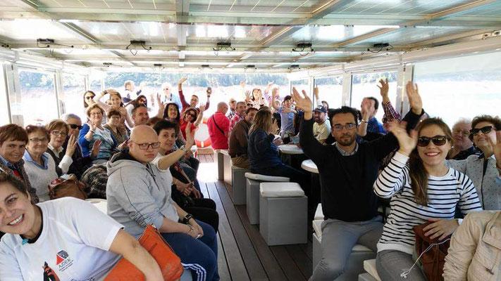 Excursión Barco Solar.