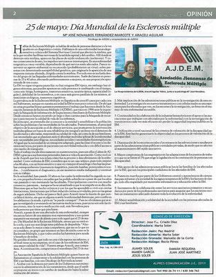 Entrevista Revista Salud.
