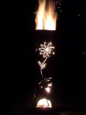 Feuersäule Blume
