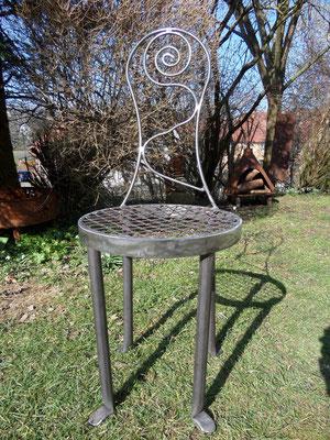 Gartenstuhl aus Metall