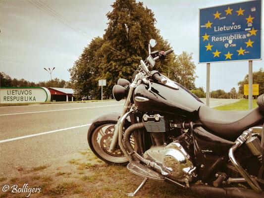 Unser aller erster Grenzübertritt nach Litauen
