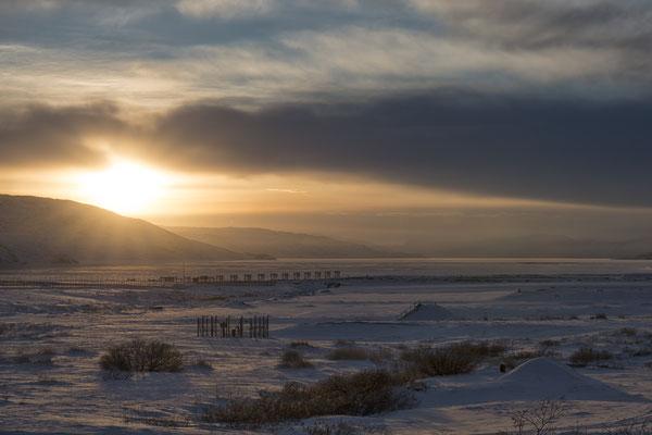 Sonnenuntergang Kangerlussuaq 2