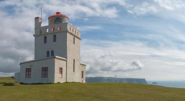 Leuchtturm vom Kap Dyrhólaey