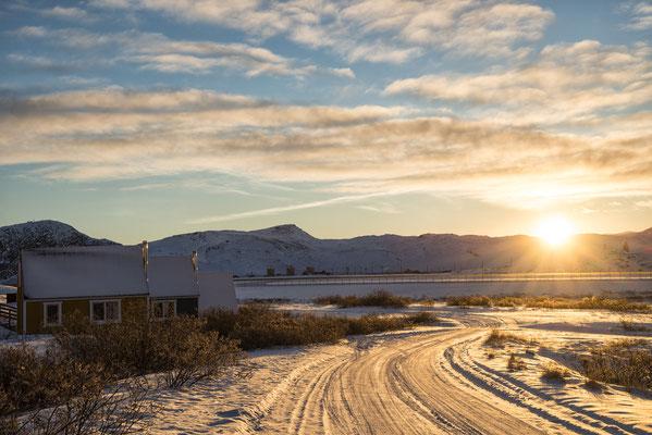 Sonnenuntergang Kangerlussuaq 1