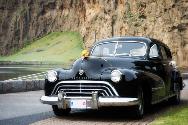 Oldsmobile Straight Eight Fleetline Sedan Bj.1948