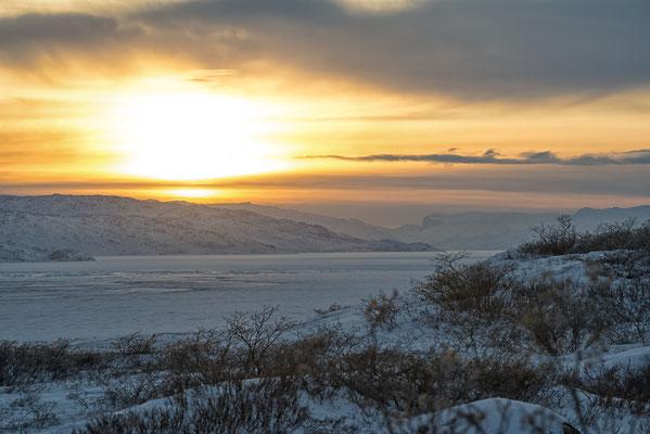 Sonnenuntergang Kangerlussuaq 3