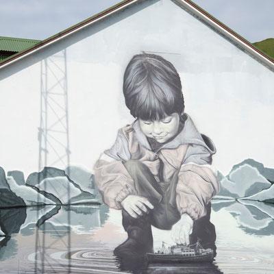 Guido van Helten Grafitti 1, Heimaey