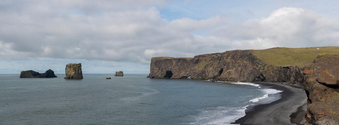 Kap Dyrhólaey Panorama 1