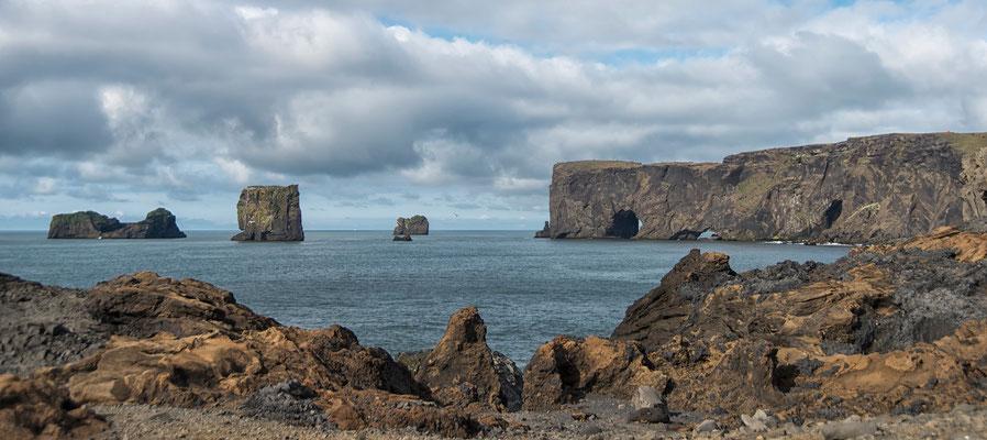 Kap Dyrhólaey Panorama 2