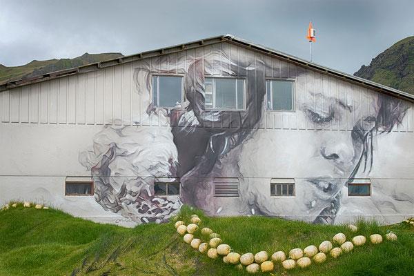 Guido van Helten Grafitti 2, Heimaey