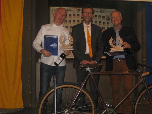 v.l. BRV-Ndby Josef Stöckl, Achim Spechter, Manfred Wimmer