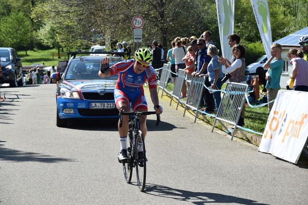 Tim Schlichenmaier als zweiter im Ziel