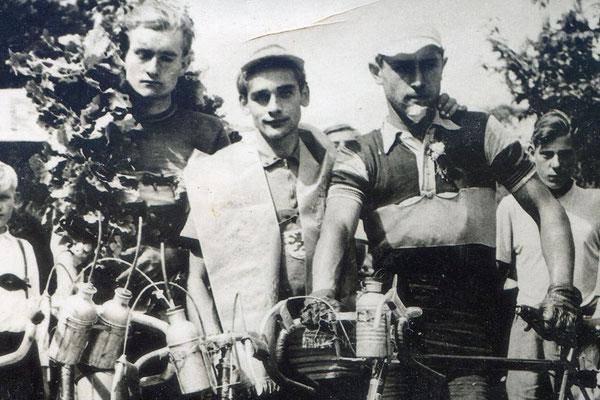 Siegerehrung Bayerwald Grenzlandfahrt 1952