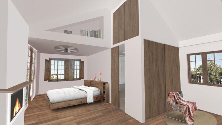 Render Arquitectura. Vivienda Porráns, Pontevedra