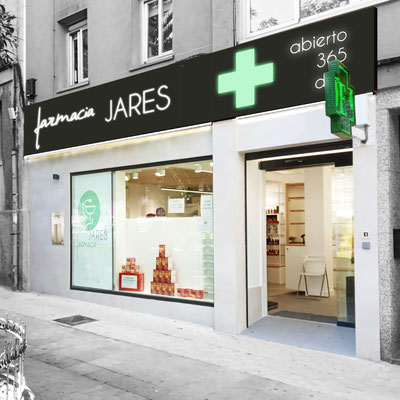 Reforma farmacia Galicia