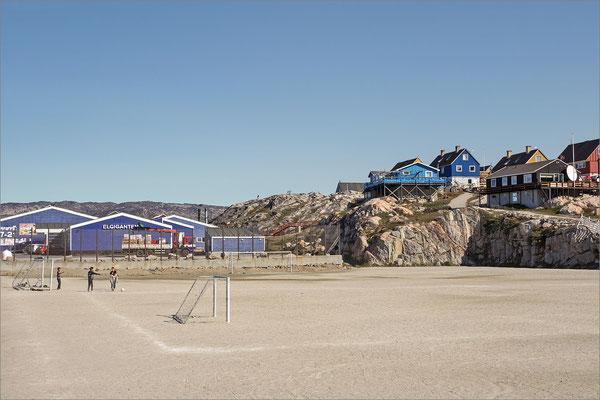 Ilulissat - Fussballplatz
