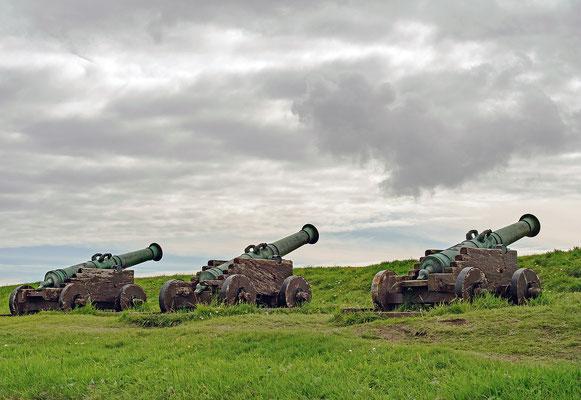 Färöer Tórshavn - Festungsanlage Skansin