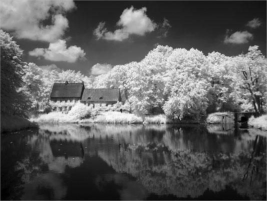 Schloss Ahrensburg - alte Wassermühle