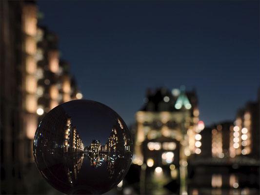 Speicherstadt Glaskugel