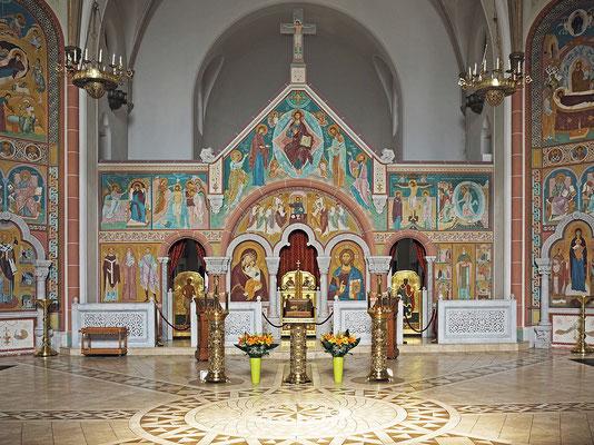 Kirche des Hl. Johannes von Kronstadt zu Hamburg (ehemalige evangelisch-lutherische Gnadenkirche)