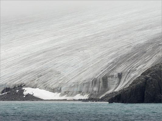 Alkefjellet Gletscher