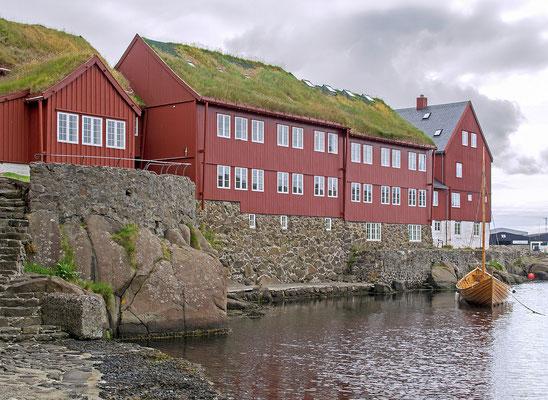 Färöer Tórshavn - Altstadt Tinganes