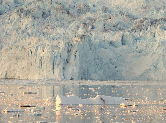 Eqi - Gletscher Abendstimmung