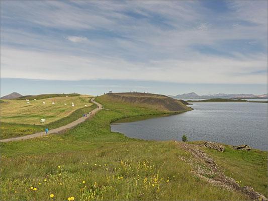 Island Mývatn Pseudokrater  (2016)
