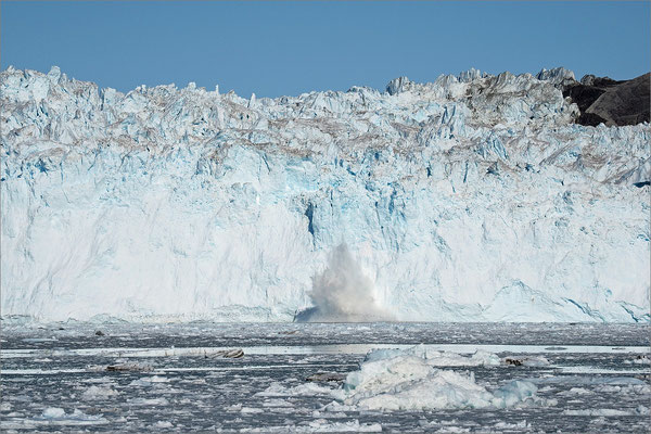 Eqi - Gletscher mit Abgang
